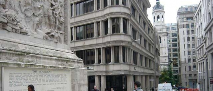Office Space to Rent Monument Providian House London UK