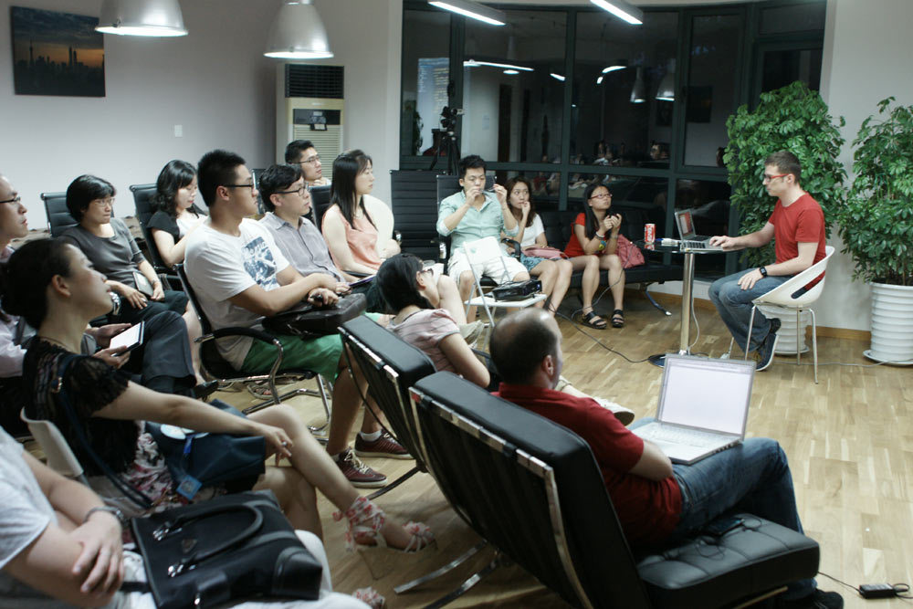 Shanghai international coworking office space and shared office